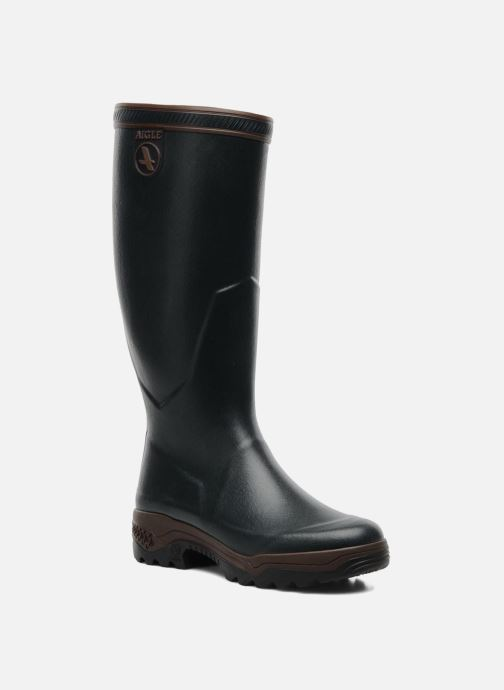 Boots & wellies Aigle Parcours 2 Green detailed view/ Pair view