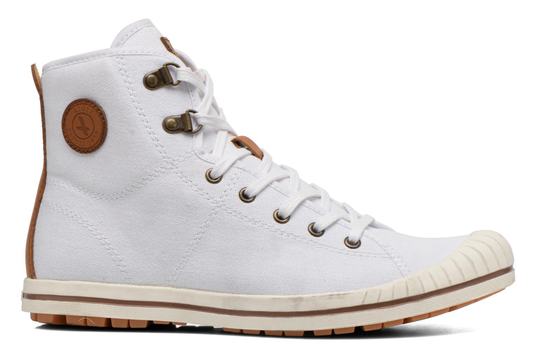 Chaussures à lacets Aigle Kitangiri Mid W Blanc vue derrière