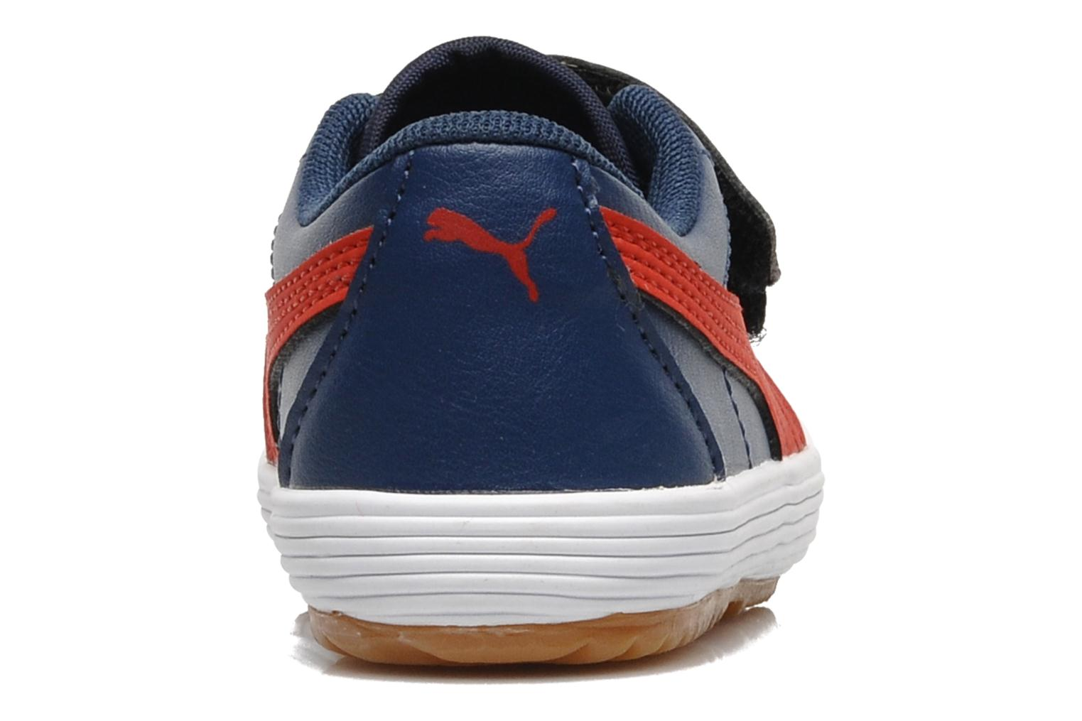 Trainers Puma Puma Serve Pro V Kids Blue view from the right