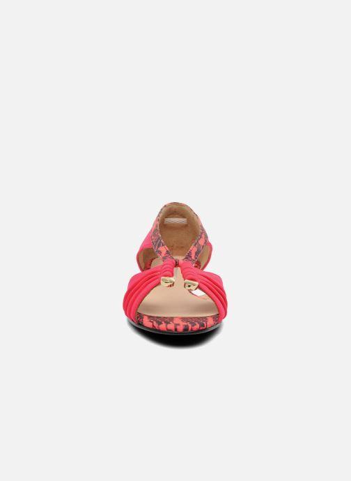 Sandales et nu-pieds MySuelly Romane Rose vue portées chaussures