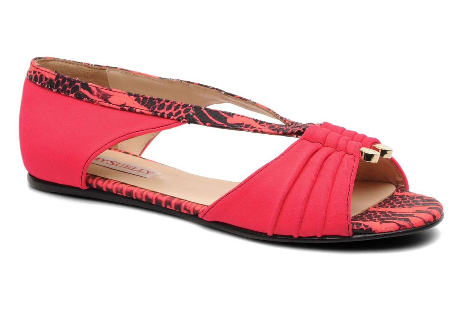 Sandals MySuelly Romane Pink detailed view/ Pair view