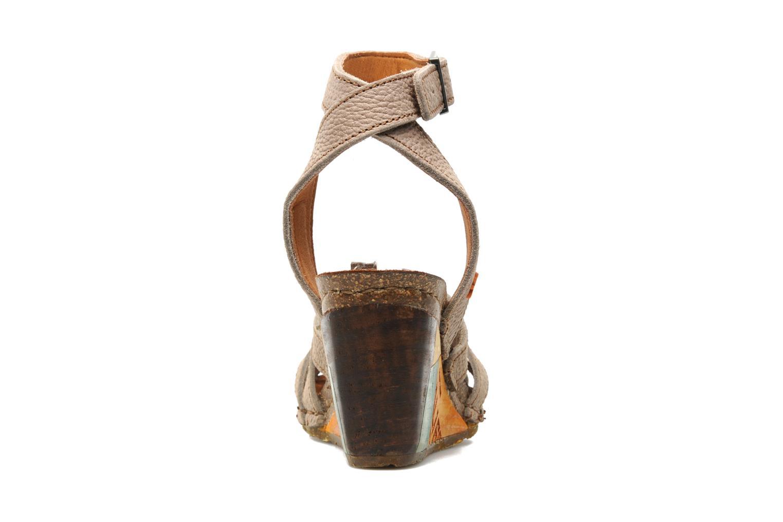 Sandales et nu-pieds Art Kastellet 494 Beige vue droite