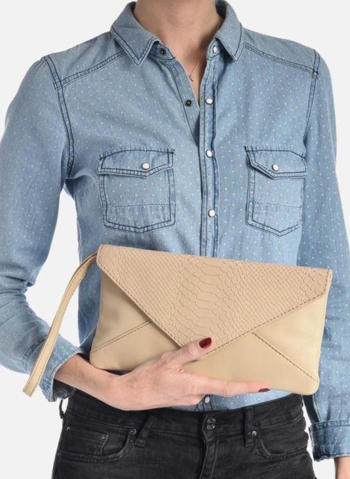 Borse Loxwood Pochette Lana Azzurro immagine dall'alto