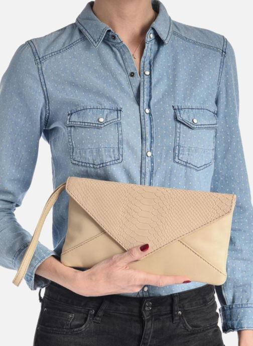 Sacs à main Loxwood Pochette Lana Beige vue bas / vue portée sac