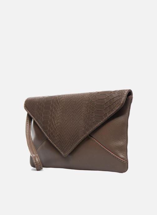 Handtaschen Loxwood Pochette Lana braun schuhe getragen