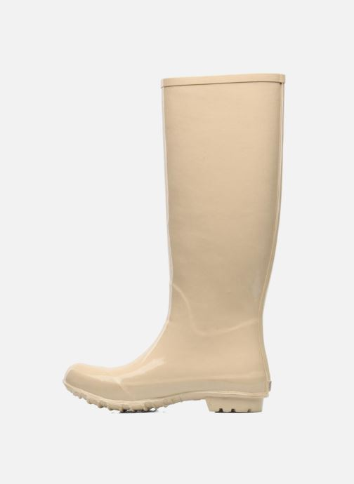 Stivali Be&D Singing in the rainboots Beige immagine frontale