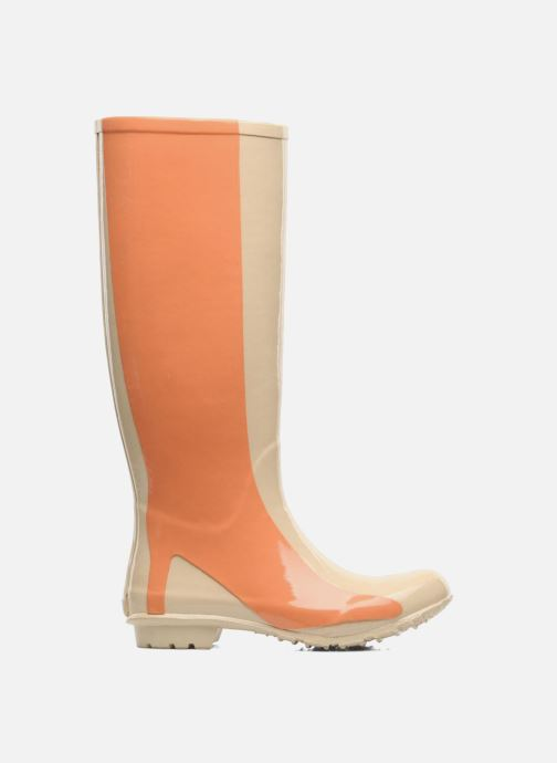 Stivali Be&D Singing in the rainboots Beige immagine posteriore