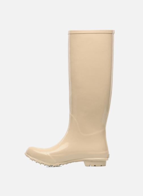 Bottes Be&D Singing in the rainboots Beige vue face