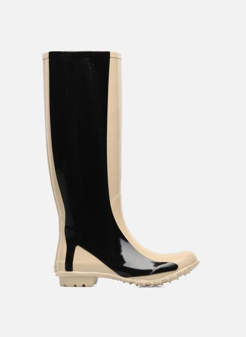 Bottes Be&D Singing in the rainboots Beige vue derrière