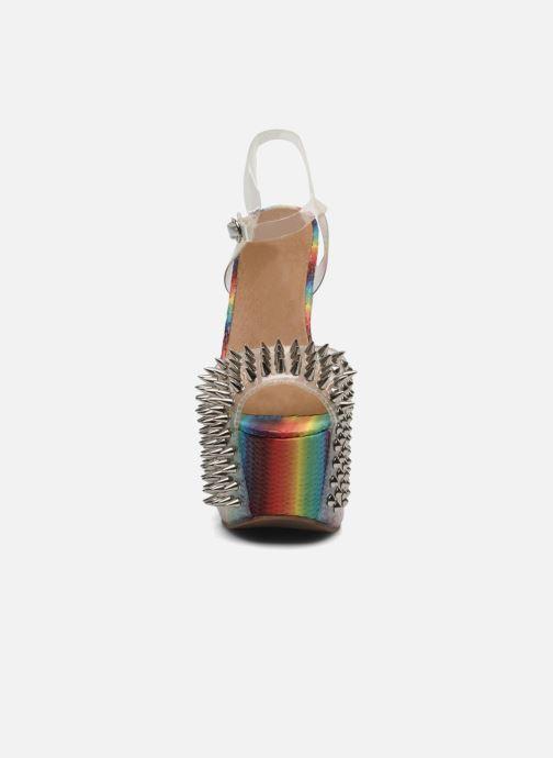 Sandalen Jeffrey Campbell Vicious mehrfarbig schuhe getragen
