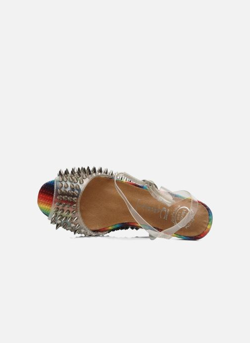 Sandals Jeffrey Campbell Vicious Multicolor view from the left