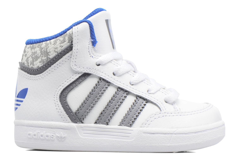 Baskets Adidas Originals Varial Mid I Blanc vue derrière
