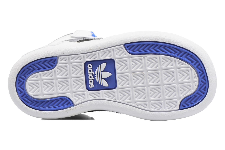 Baskets Adidas Originals Varial Mid I Blanc vue haut