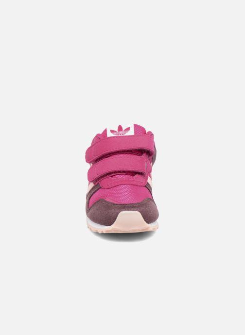 Baskets adidas originals Zx 700 Cf I Rose vue portées chaussures