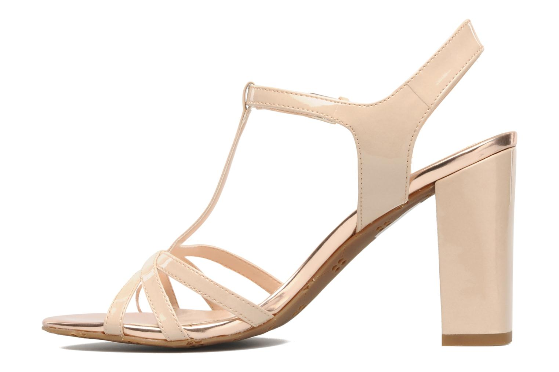 Sandales et nu-pieds Naturalizer EBBA Beige vue face