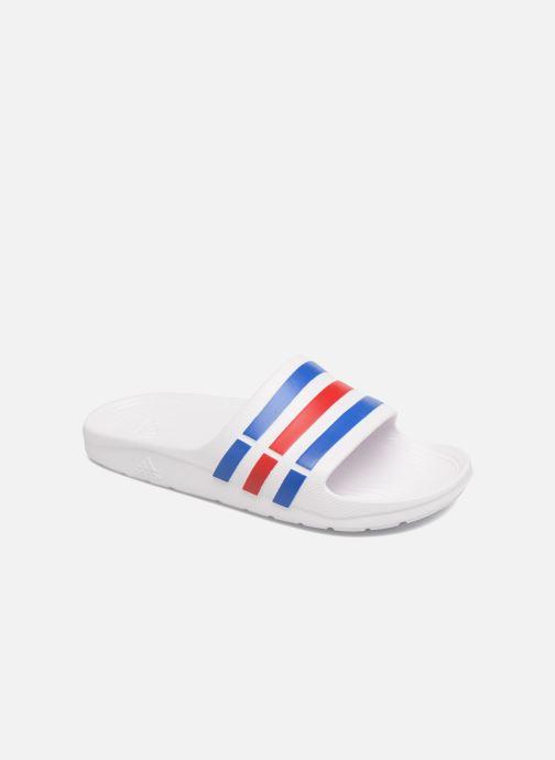 Zapatillas de deporte adidas performance Duramo Slide Blanco vista de detalle / par