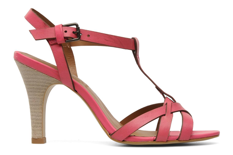 Sandales et nu-pieds Pastelle Capucine Rose vue derrière