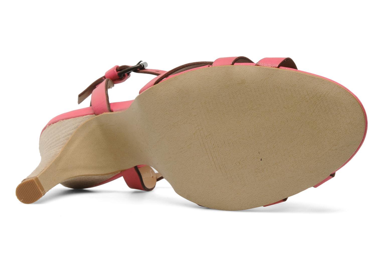 Sandales et nu-pieds Pastelle Capucine Rose vue haut