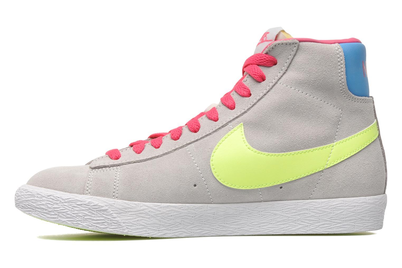 Chaussures de sport Nike Blazer Mid Vintage (GS) Gris vue face
