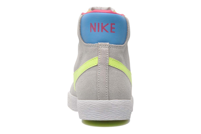 Chaussures de sport Nike Blazer Mid Vintage (GS) Gris vue droite