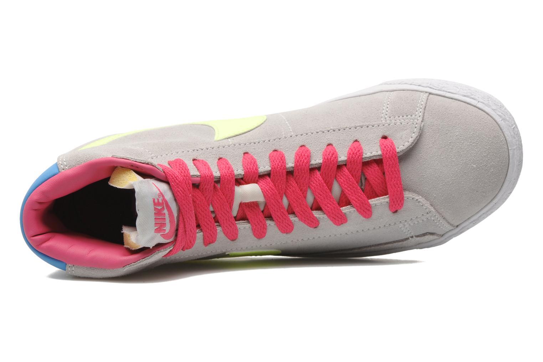 Chaussures de sport Nike Blazer Mid Vintage (GS) Gris vue gauche