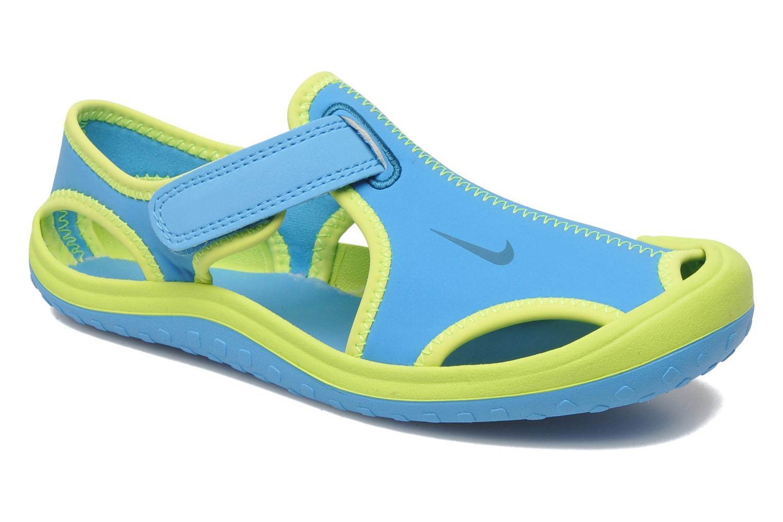 more photos 75fa7 68379 Sandales et nu-pieds Nike Sunray Protect (PS) Bleu vue détail paire