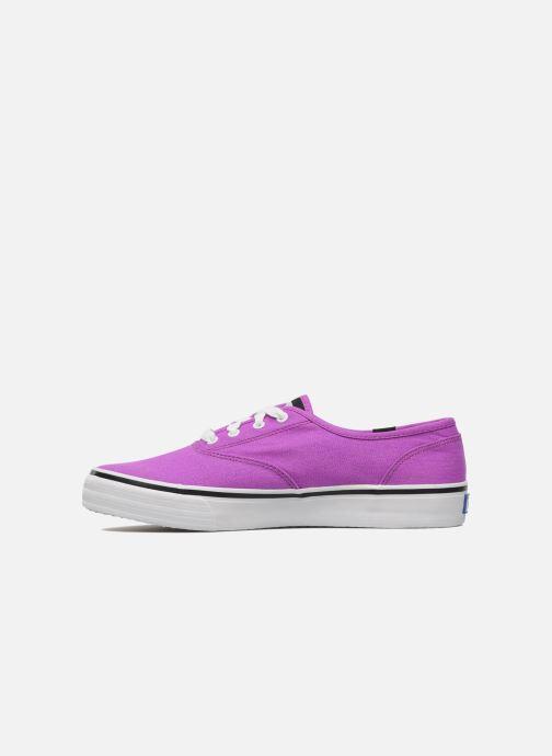 Sneaker Keds Double Dutch Neon lila ansicht von vorne