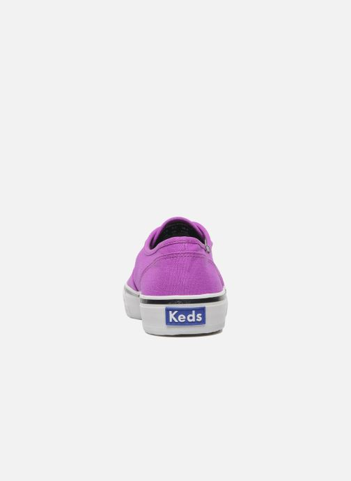 Sneaker Keds Double Dutch Neon lila ansicht von rechts
