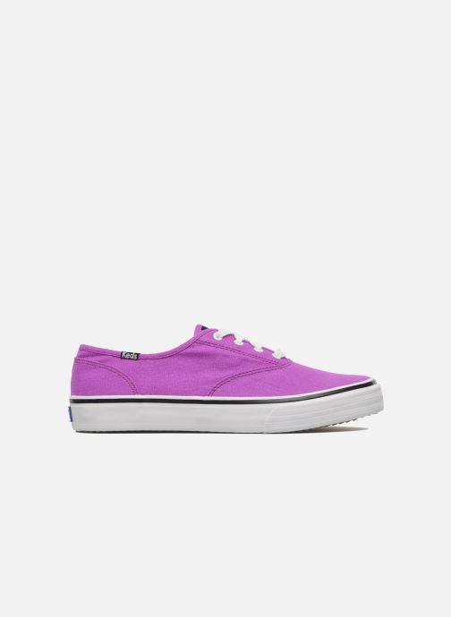 Sneaker Keds Double Dutch Neon lila ansicht von hinten