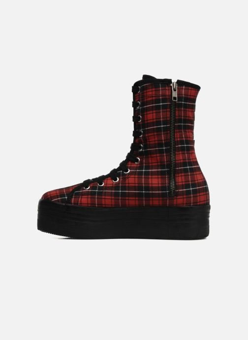 Ankle boots Jeffrey Campbell Lockness Red front view