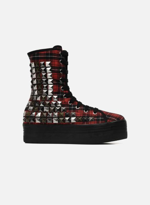 Ankle boots Jeffrey Campbell Lockness Red back view