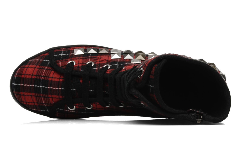 Stiefeletten & Boots Jeffrey Campbell Lockness rot ansicht von links
