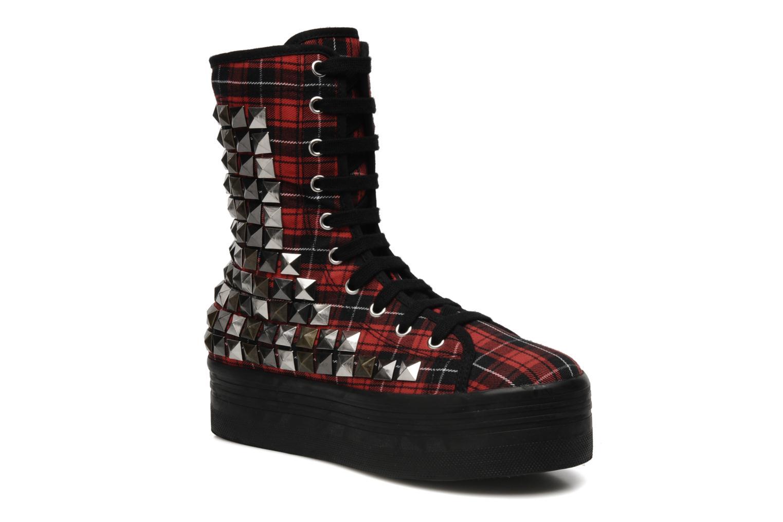 Boots en enkellaarsjes Jeffrey Campbell Lockness Rood detail