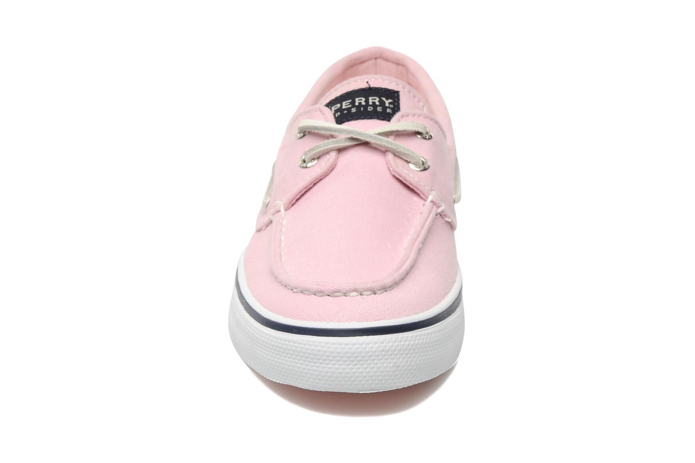 Zapatos con cordones Sperry Bahama 96886 Rosa vista del modelo