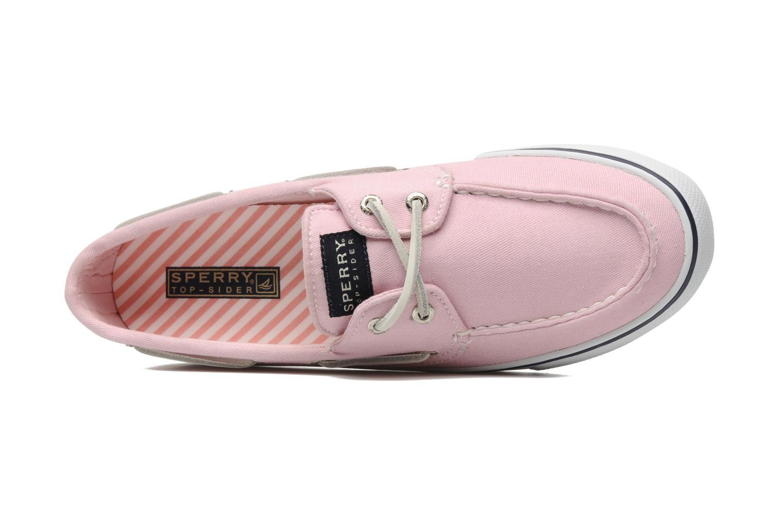 Zapatos con cordones Sperry Bahama 96886 Rosa vista lateral izquierda