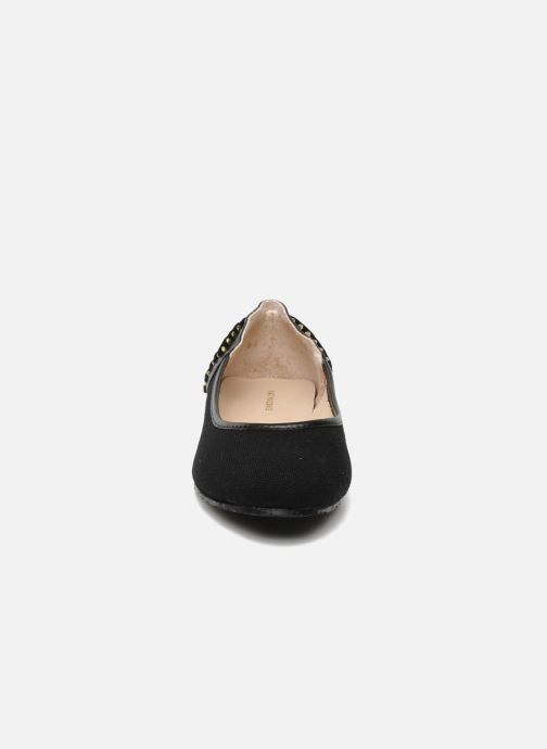 Ballet pumps Kat Maconie ROSA Black model view