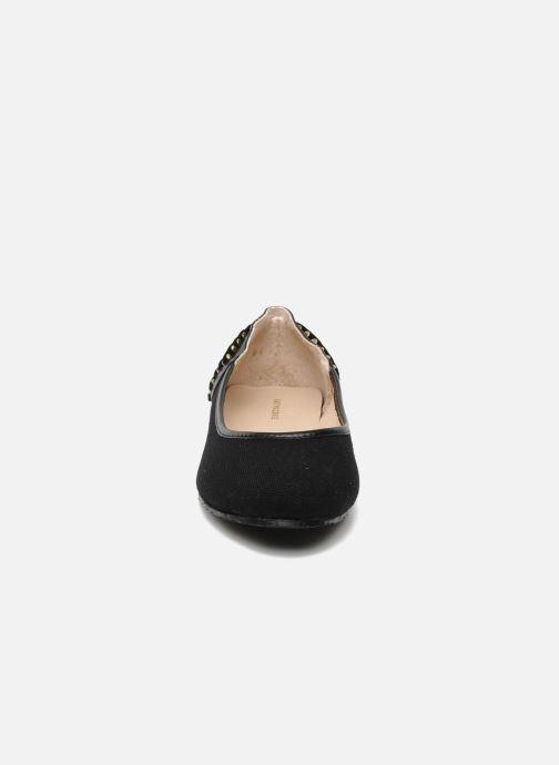 Ballerines Kat Maconie ROSA Noir vue portées chaussures