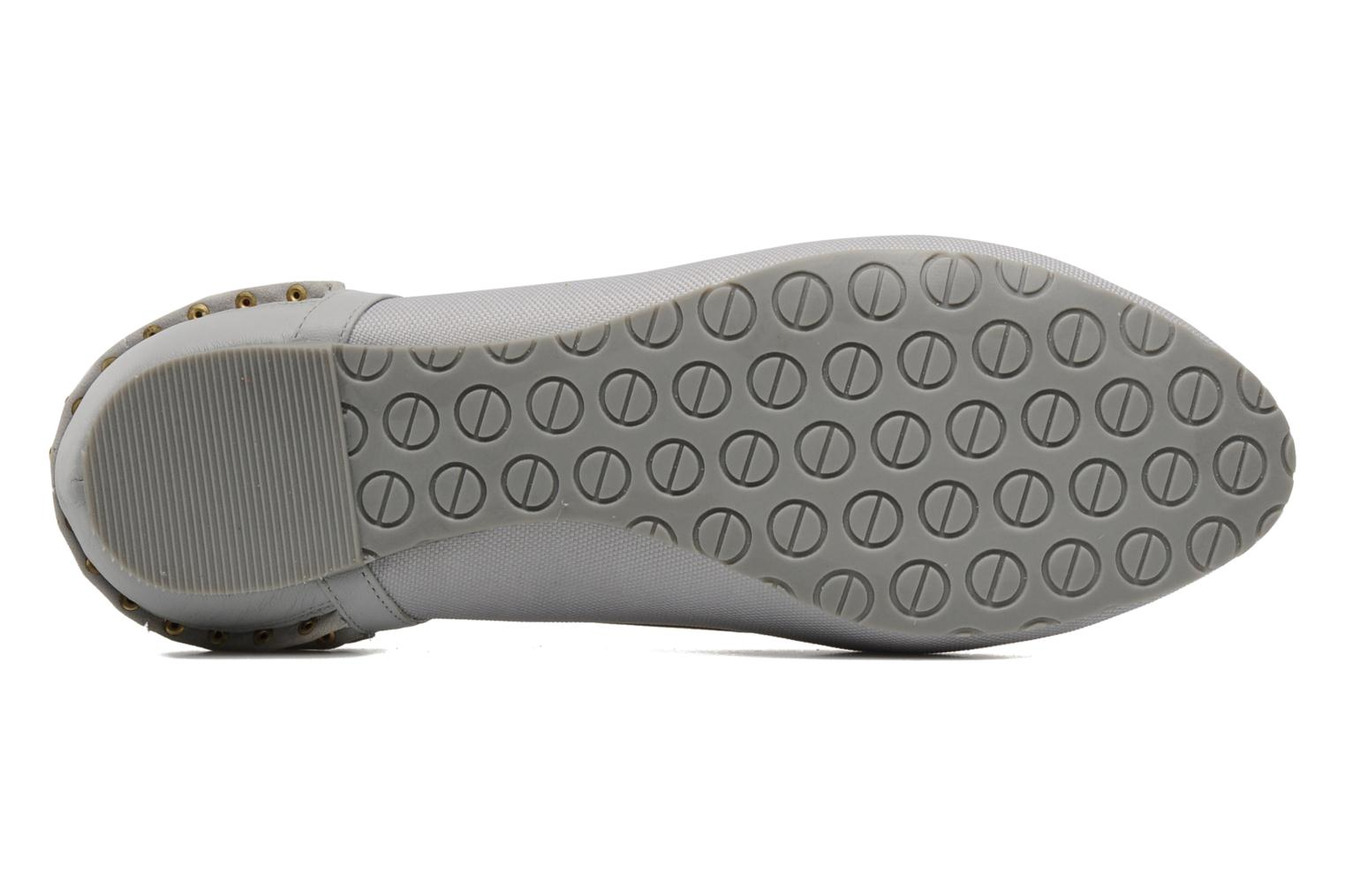 Ballet pumps Kat Maconie ROSA Grey view from above