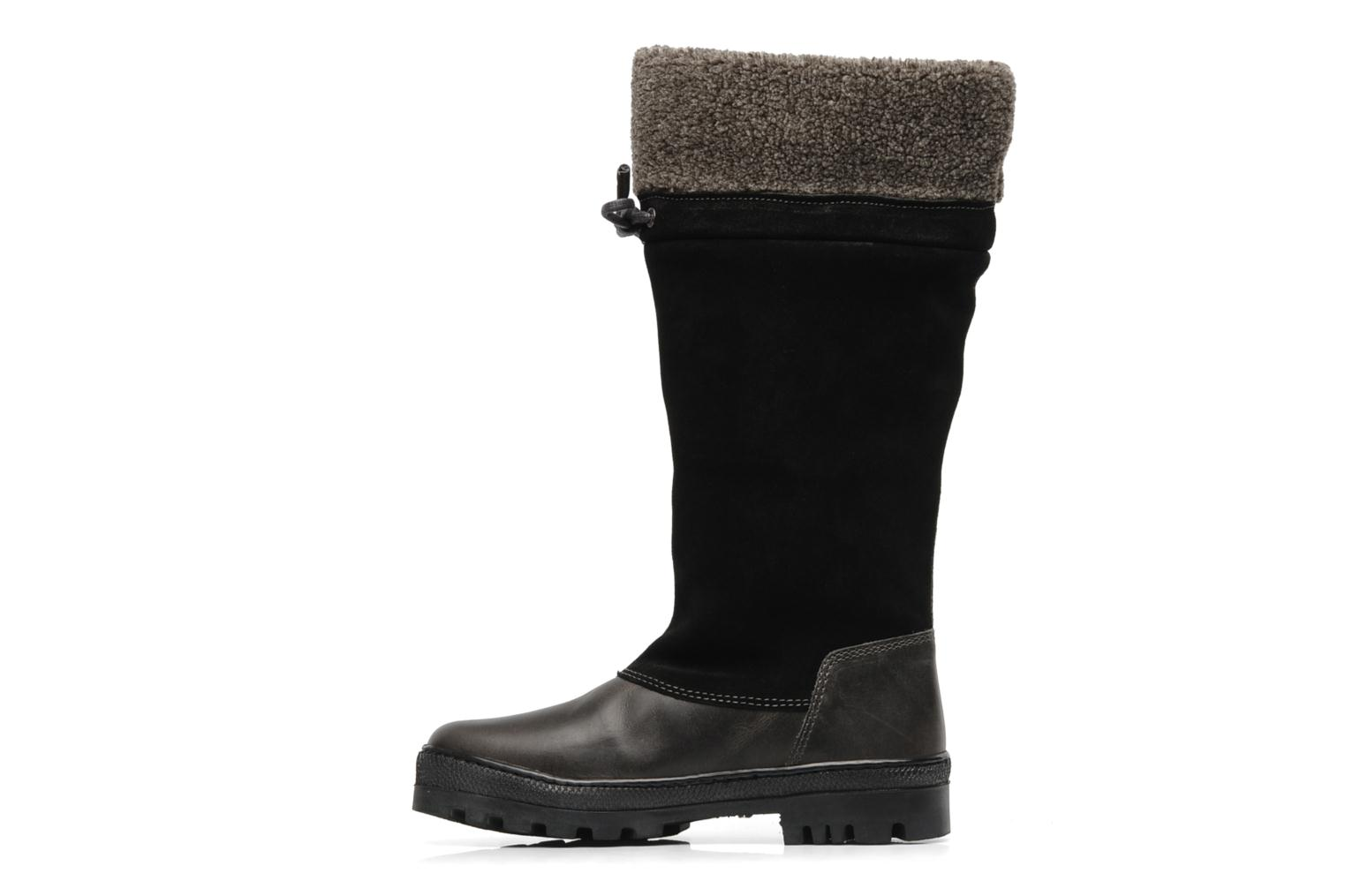 Boots & wellies Peak performance York collar boot Black front view