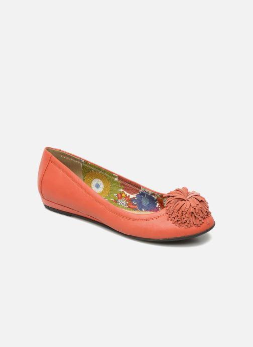 Ballerines Hush Puppies Swan skimmer pp Orange vue détail/paire