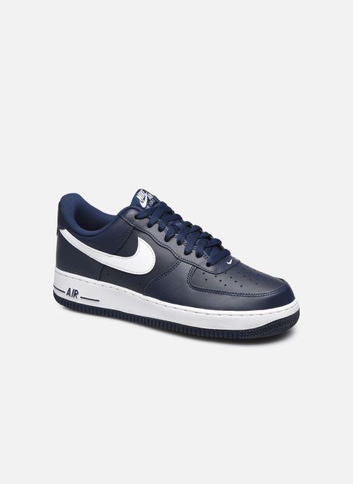 Baskets Nike Air Force 1 Bleu vue détail/paire