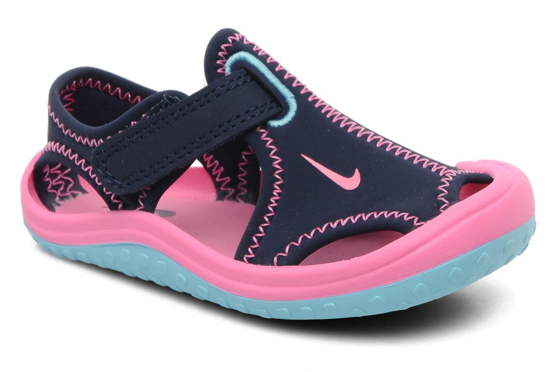 info for 7eda4 528c5 Chaussures de sport Nike SUNRAY PROTECT (TD) Bleu vue détail paire