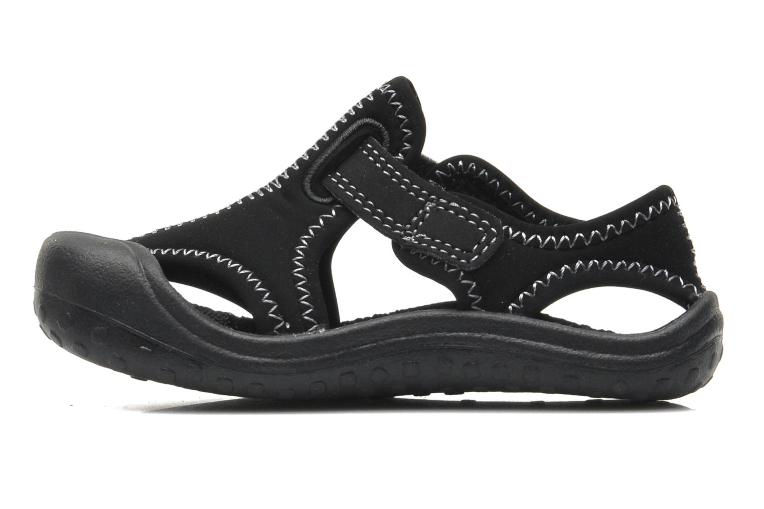 Sport shoes Nike SUNRAY PROTECT (TD) Black front view