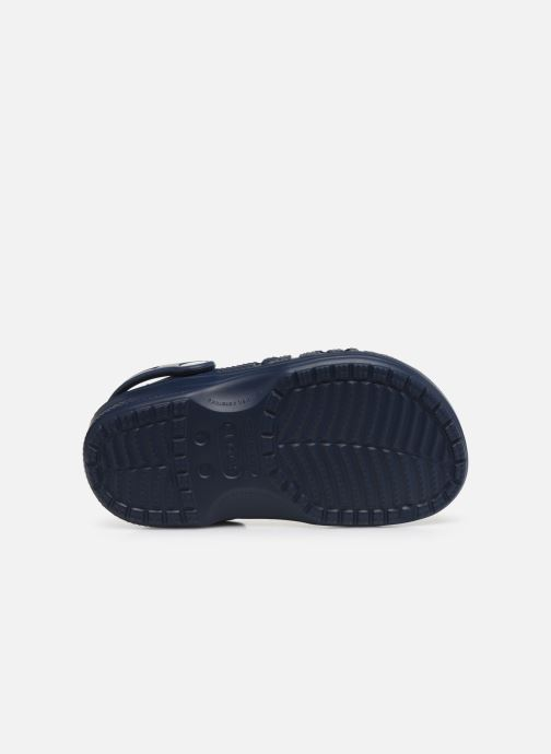 Sandals Crocs Baya Kids Blue view from above