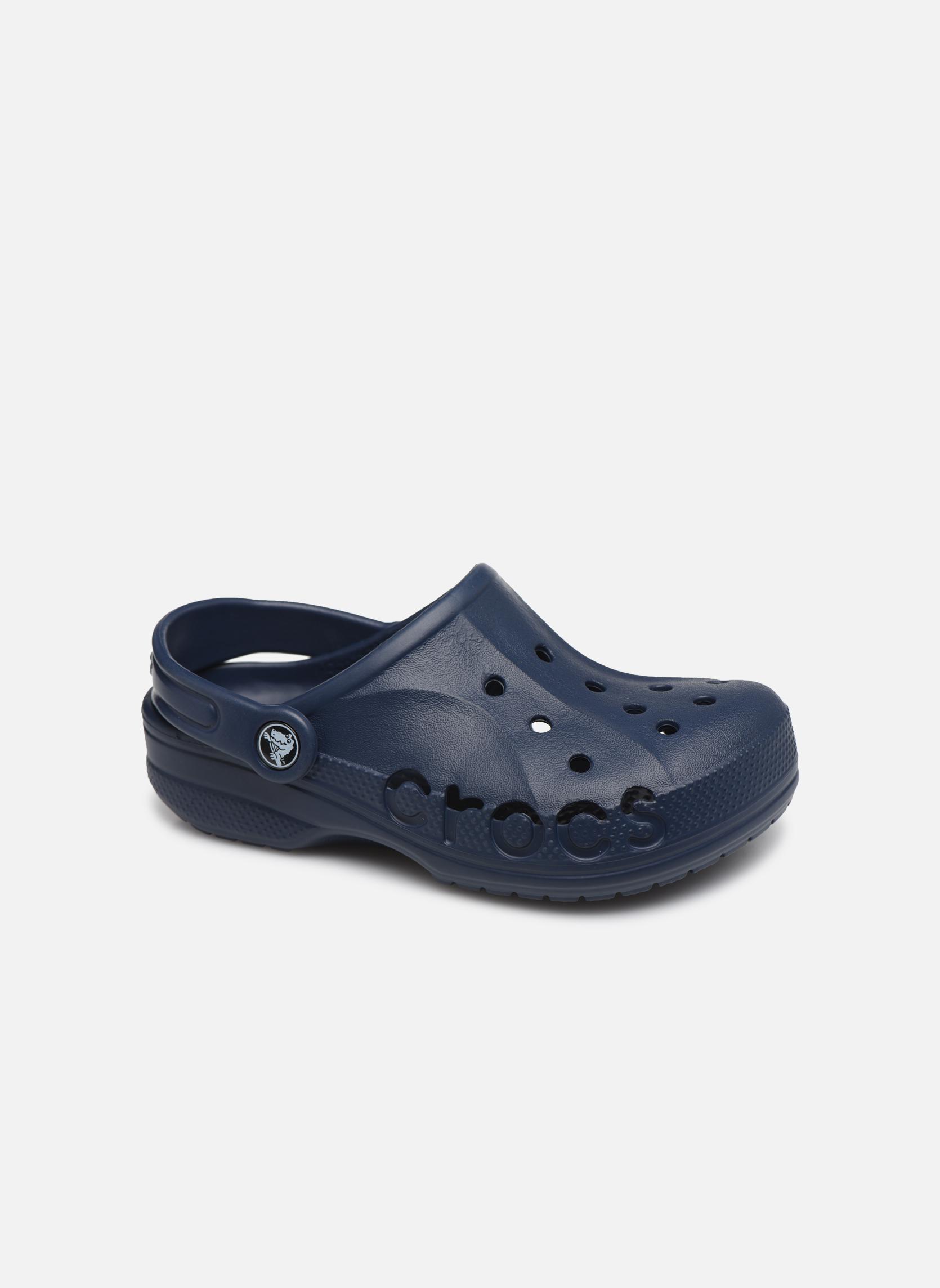Sandales et nu-pieds Crocs Baya Kids Bleu vue détail/paire