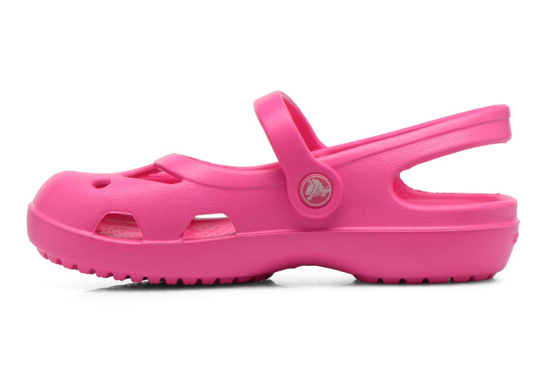 Sandales et nu-pieds Crocs Shayna Rose vue face