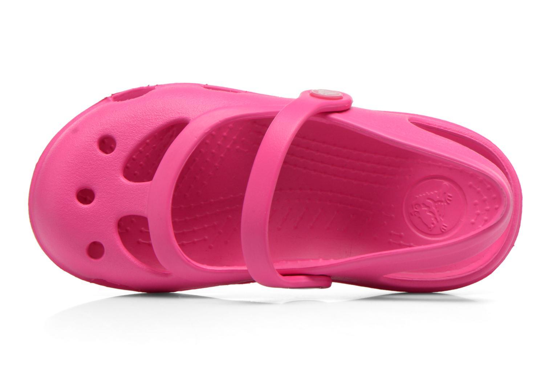 Sandales et nu-pieds Crocs Shayna Rose vue gauche