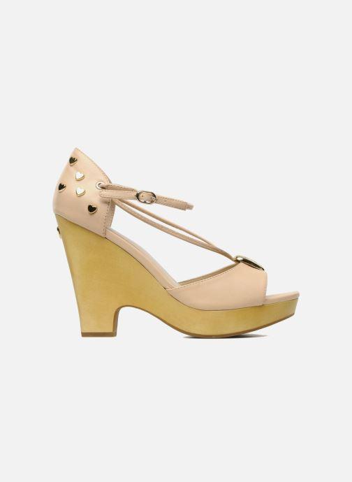 Sandales et nu-pieds Love Moschino Love Cipria Rose vue derrière