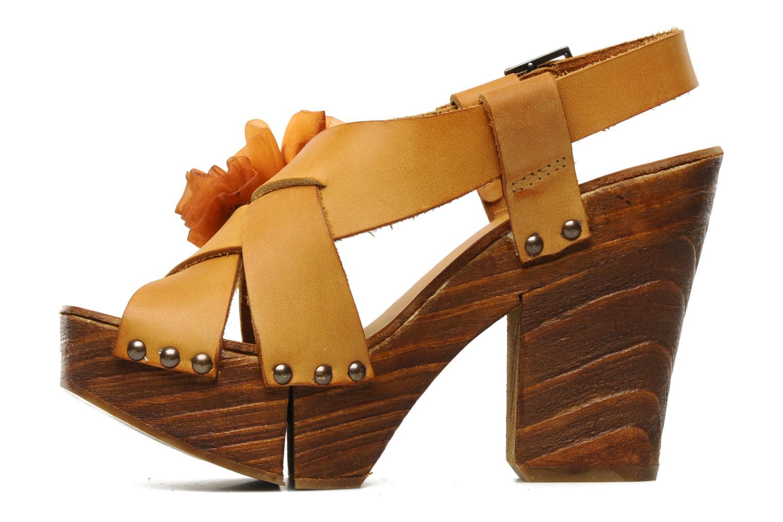 Sandales et nu-pieds Neosens Carina 173 Orange vue face