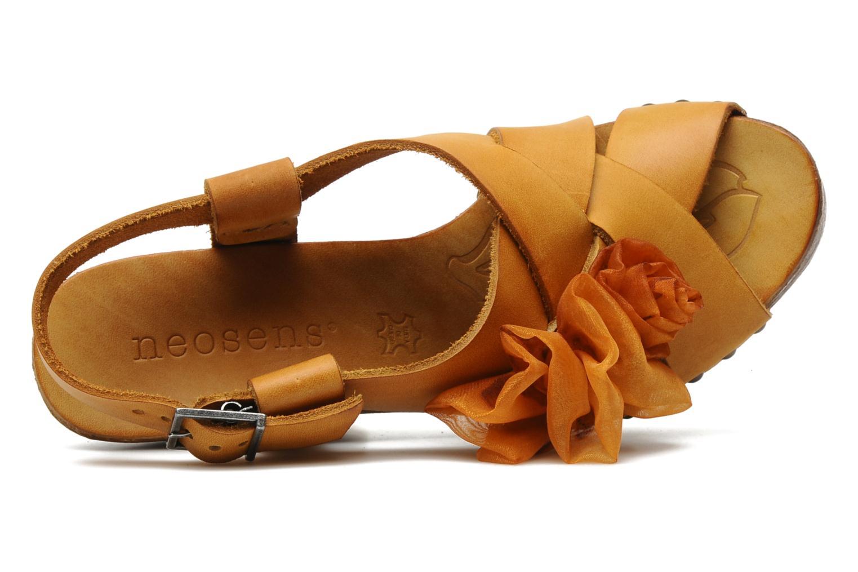 Sandales et nu-pieds Neosens Carina 173 Orange vue gauche